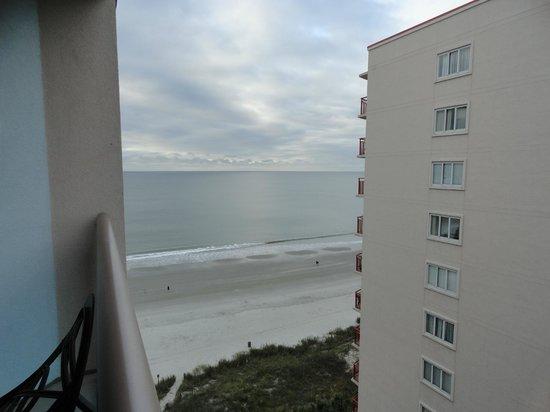 Atlantic Breeze Ocean Resort, Oceana Resorts: View from our balcony