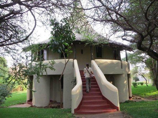 Lake Manyara Serena Lodge: room 64 upper left side