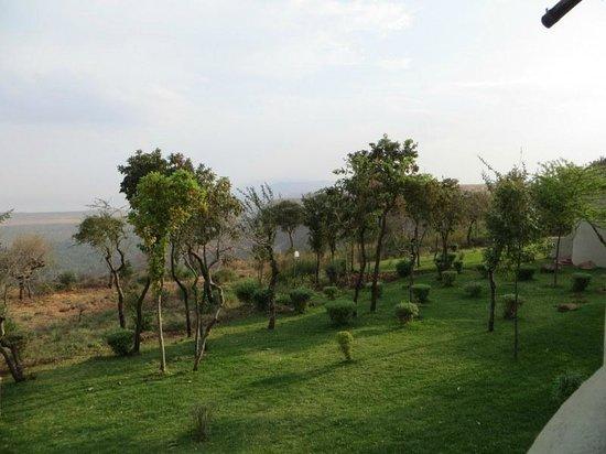 Lake Manyara Serena Lodge: view from room balcony