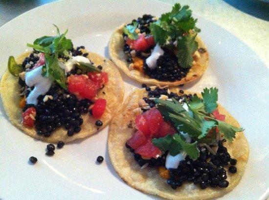 Thomas Hill Organics : Black Lentil Tacos