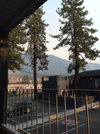 Basecamp South Lake Tahoe: View from our balcony