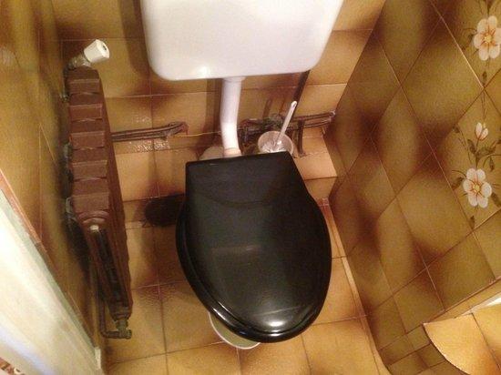 Hotel Belvedere: Le wc et la tuyauterie