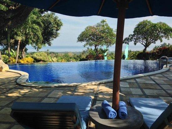 Puri Mangga Sea View Resort & Spa: view from ppo