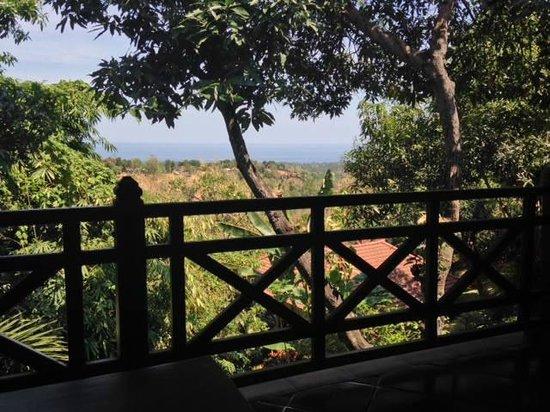 Puri Mangga Sea View Resort & Spa: view from villa
