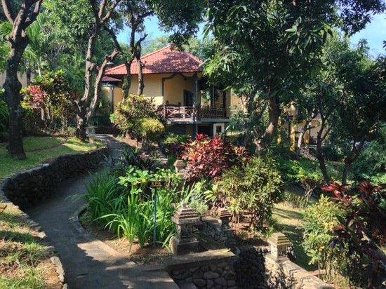 Puri Mangga Sea View Resort & Spa: Palm House villa