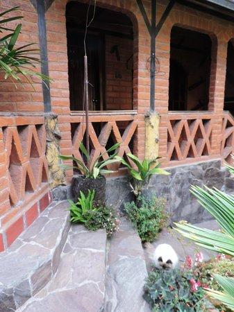Jardines de Chamana: Room porch