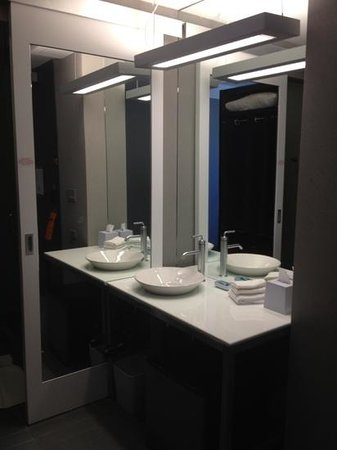 Aloft Harlem: bath room