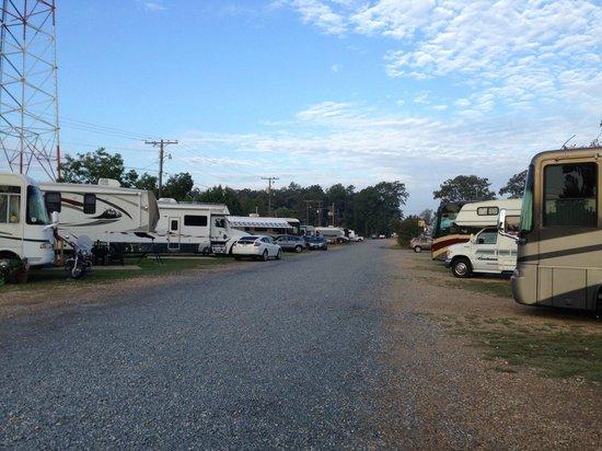 Pavillion RV Park: Flat, easy access