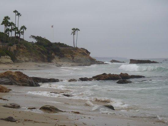 The Tides Laguna Beach: Beach area