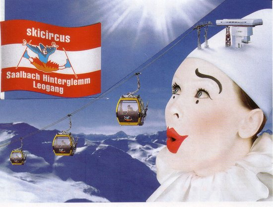 Berger's Sporthotel: Skicircus Clown