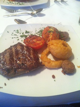 Lutwidge Arms Hotel: The amazing fillet steak