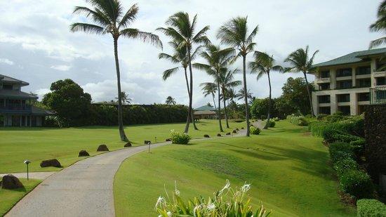Grand Hyatt Kauai Resort Spa Beach Walk