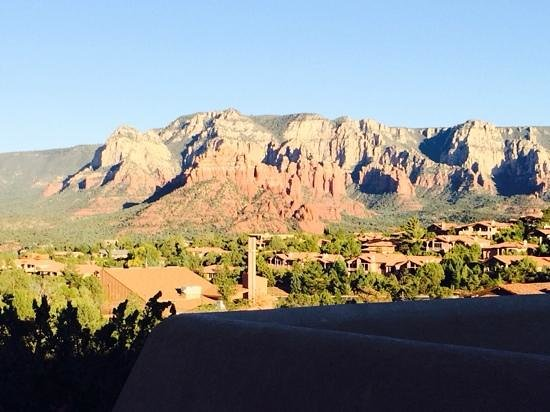 Southwest Inn at Sedona: view from the balcony