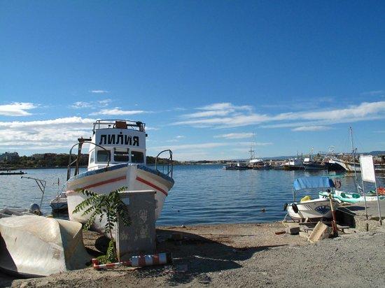 St. Stefan Boutique Hotel  Sunny Beach   BOJ: walk along small sandy beach of Nessebar