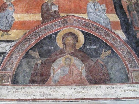 St. Stefan Boutique Hotel  Sunny Beach   BOJ: interior frescoes in St. Stefan church