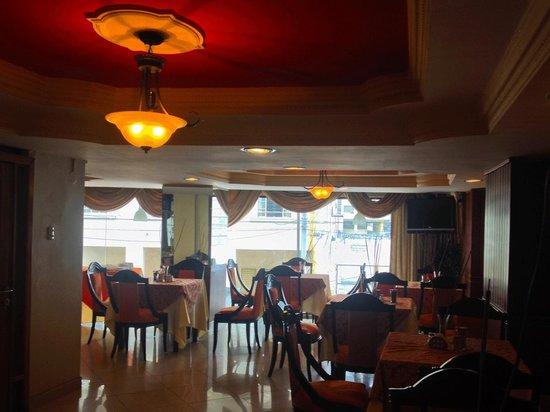 Restaurant, Hotel Presidente Internacional, Guayaquil, Ecuador.