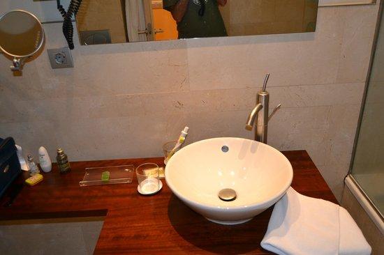 Hotel Sant Roc: Cuarto de baño