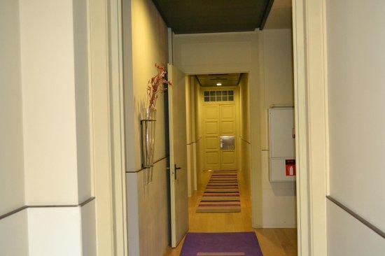 Hotel Sant Roc: Pasillo primer piso