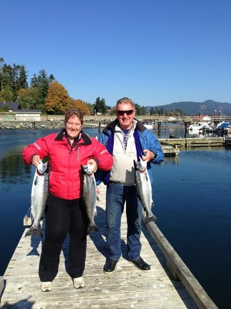 D and D Fishing Charters: Our Coho Salmon