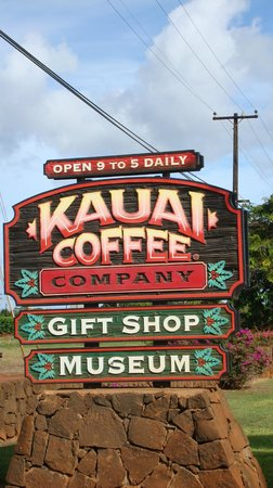 Kauai Coffee Company: tour