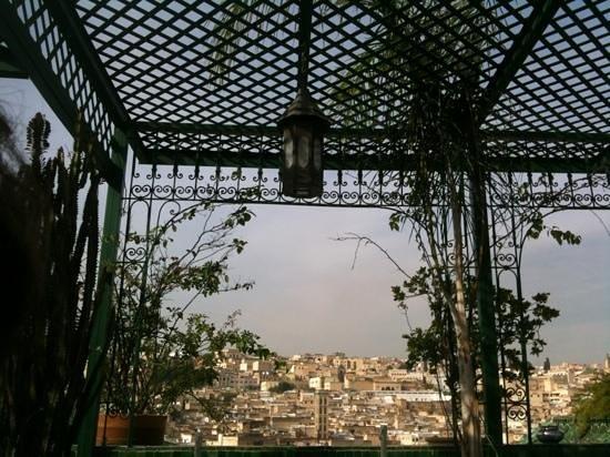 Riad La Maison Verte: terrazza
