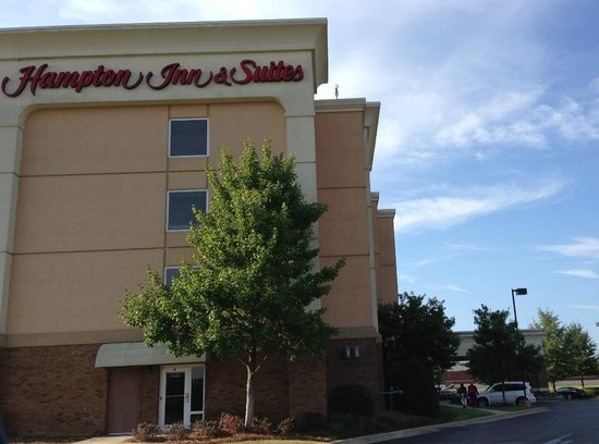 ‪هامبتون إن أند سويتس مونتجمري إيستشيس: Exterior view of the Hampton Inn & Suites, Montgomery AL, East Chase‬