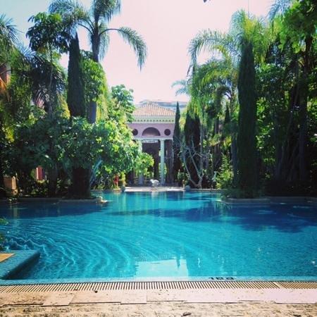 Villa Padierna Palace Hotel : la piscine