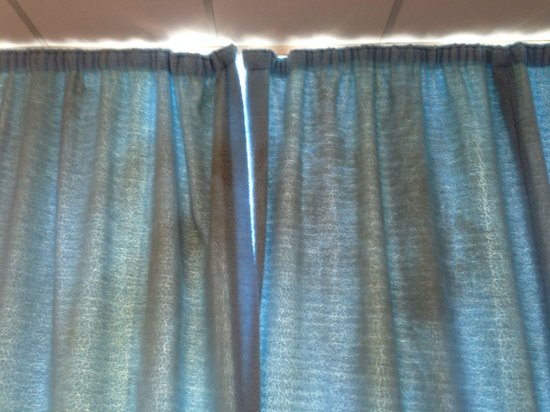 Curtains Ideas curtains cardiff : Filthy brown marks on the curtains! - Picture of The Big Sleep ...