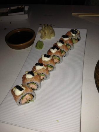 Katsuya - LA Live: Good/interesting salmon roll.