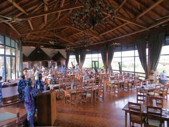 Tarangire Sopa Lodge: dining room