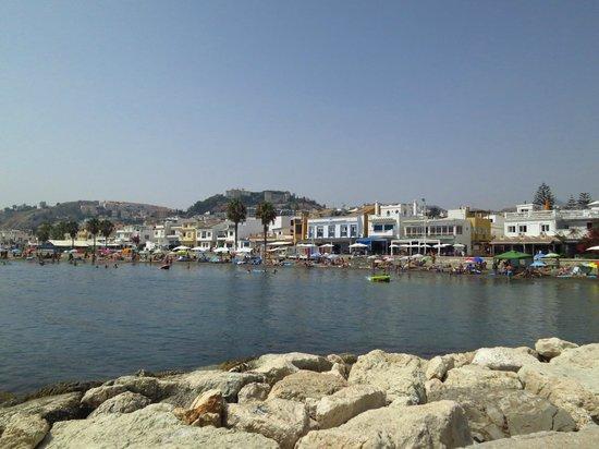 Hotel Domus : op het strand vlakbij het hotel