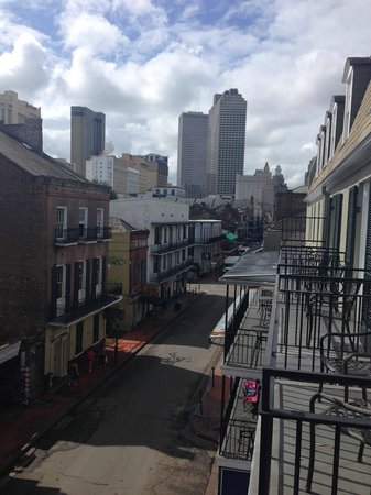 Four Points By Sheraton French Quarter: View from 4th floor