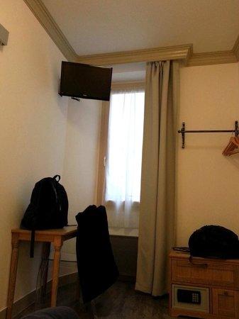 Hotel Korner Montparnasse: Bedroom