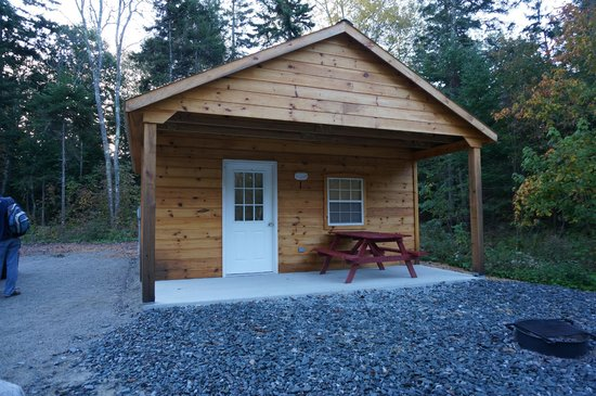 Hadley's Point Campground : Great cabin