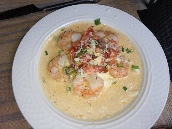 The Red Barn Cafe: Shrimp & Grits