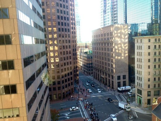 Ames Boston Hotel: View from Room 903.