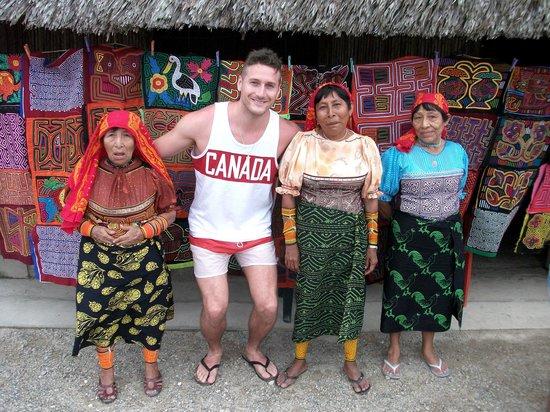 Yandup Island Lodge : Kuna Tribe Visit