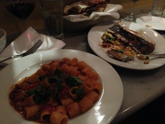 Angelini Osteria : The bone marrow gnocchi was amazing!