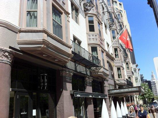 Copley Square Hotel: Hotel facade