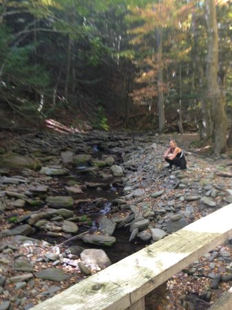 Hunter Mountain Hotel & Spa: Beautiful creekside walk
