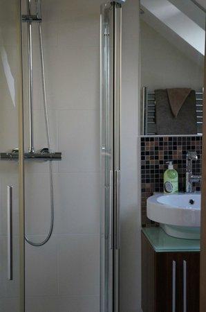 Linksview House Bed & Breakfast: Modern Bath