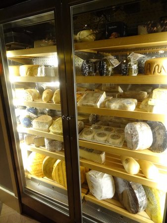 "Spiaggia: cheese ""cave"""