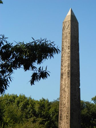 Cleopatra's Needle: Detail of Cleo's Needle in Central Park NYC