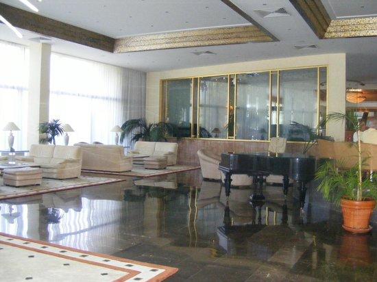 Rodos Palace: a part of the lobby