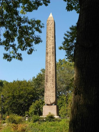 Cleopatra's Needle: Cleo's Needle in Central Park NYC