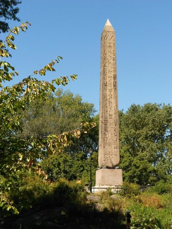 Cleopatra's Needle: Cleo's Needle doesn't stand on much.