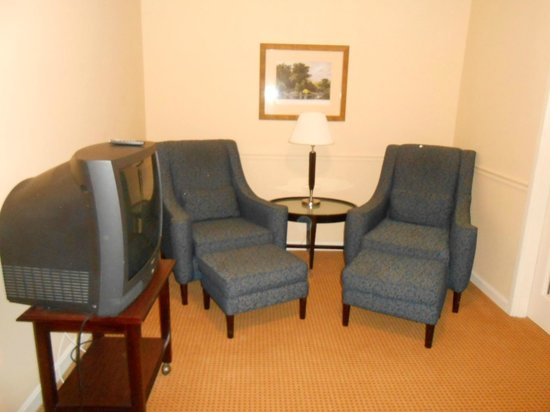 Senator Inn & Spa: Sitting area