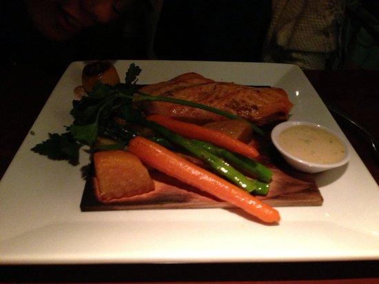 Seasons 52: Fresh grilled salmon