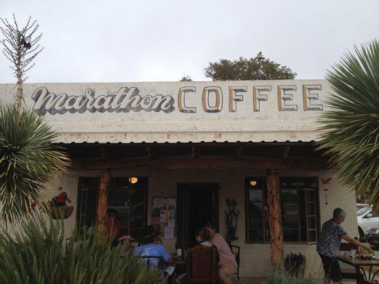 Marathon Coffee Shop: Outside