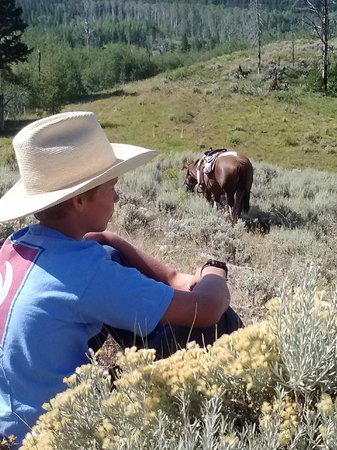 Moose Head Ranch: Relaxing in the sagebrush with Summer